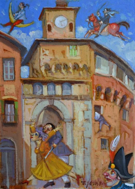 Garfagnana in giallo 2012 - La copertina di Fontirossi